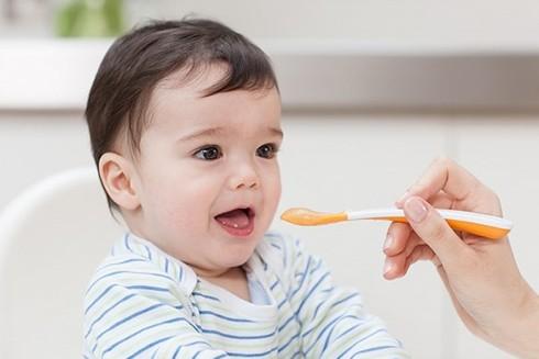 Độ tuổi ăn dặm lý tưởng của trẻ là tròn 6 tháng sau khi chào đời