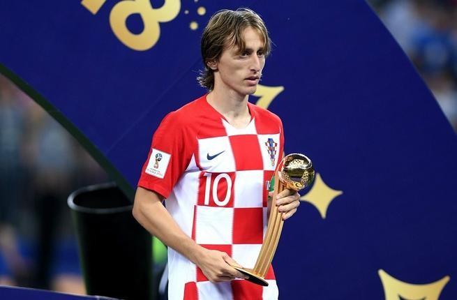 Khoảnh khắc Luka Modric rạng rỡ nhận danh hiệu quả bóng vàng 2018 ảnh 12