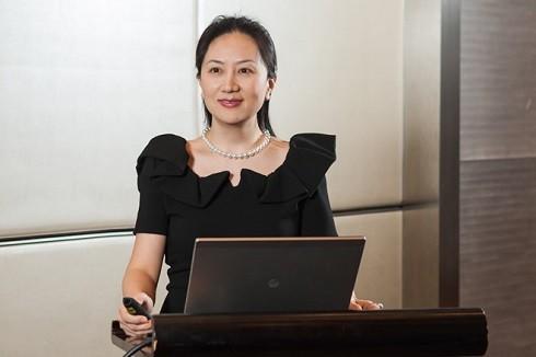 Giám đốc tài chính của tập đoàn viễn thông Trung Quốc Huawei Mạnh Vãn Châu