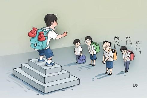 Những kỹ năng giúp con chống lại bạo lực học đường ảnh 2