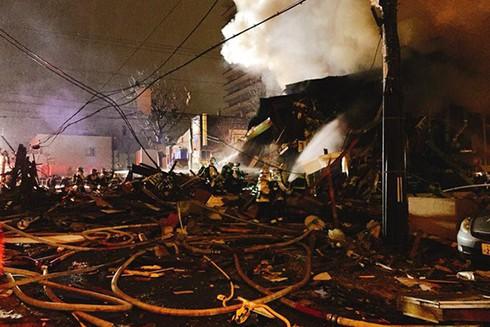 Cảnh tan hoang sau vụ nổ