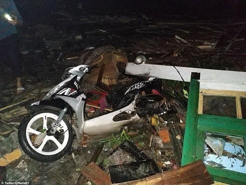 Ít nhất 113 người thiệt mạng và hơn 600 người bị thương vì trận sóng thần lần này