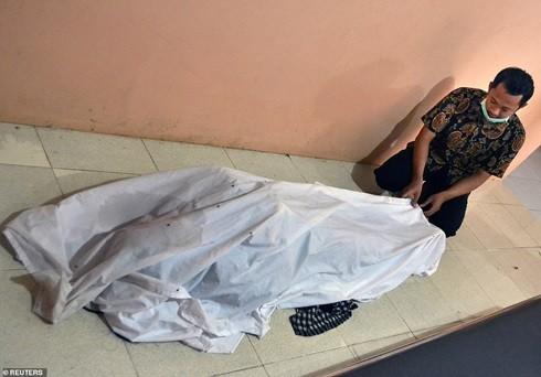 Một nạn nhân thiệt mạng vì sóng thần đêm 22-12 tại Indonesia