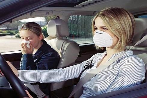 Lựa chọn vị trí trên đầu giúp bạn hạn chế say xe