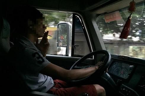 Các lái xe container sử dụng chất kích thích tràn lan khi điều khiển phương tiện