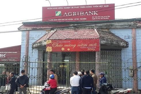 Chi nhánh ngân hàng xảy ra vụ cướp