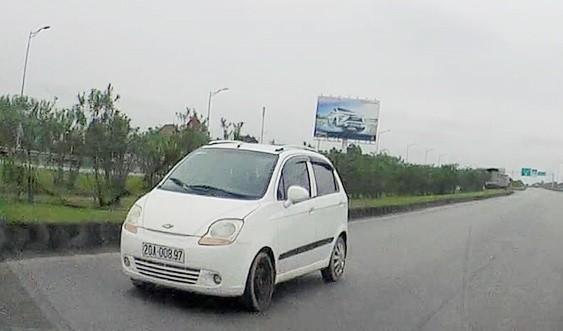Ô tô, xe máy đi ngược chiều trên cao tốc sẽ bị xử phạt như thế nào?