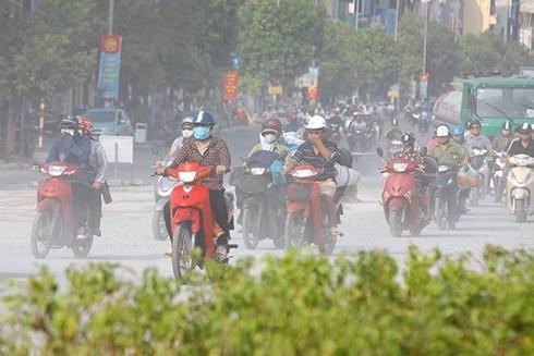 70% lượng khói bụi gây ô nhiễm không khí tại Hà Nội là do hoạt động giao thông