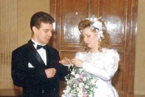 Lễ đính hôn của Medvedev và Svetlana (Nguồn: TASS)