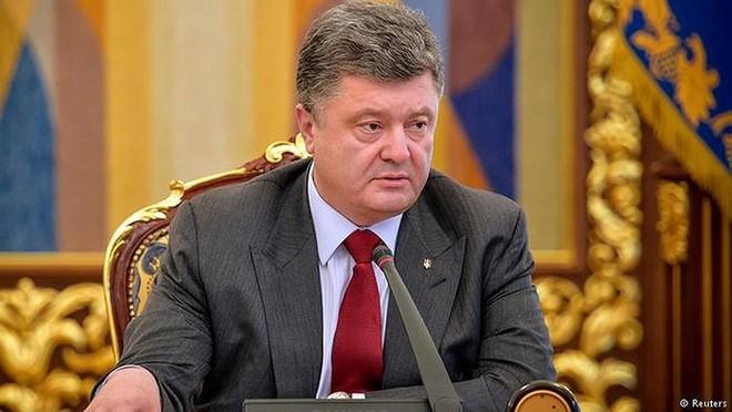 Đương kim Tổng thống Ucraina Poroshenko (Nguồn: Reuters)