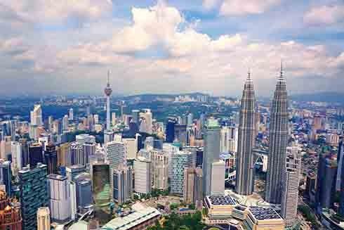 Thủ đô Kuala Lumpur, Malaysia (Nguồn: AP)