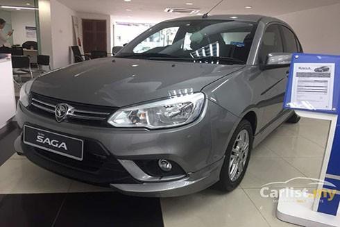 Dòng xe Proton Saga của Malaysia (Nguồn: Sputnik)
