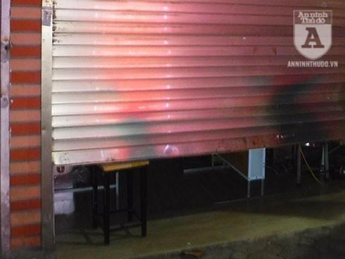 Cửa hàng ăn chị X. thuê trên phố Thành Công (Q. Ba Đình, Hà Nội)
