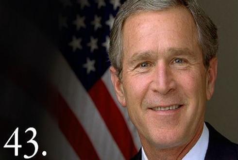 Tổng thống thứ 43 của nước Mỹ George W. Bush (Nguồn: BBC)