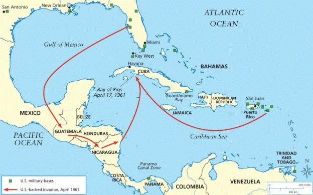 Các tài liệu được Mỹ giải mật cho biết, tháng 4-1960, CIA bắt đầu tuyển mộ các phần tử Cuba lưu vong ở Miami, bang Florida, Mỹ để huấn luyện; trả lương cho mỗi phần tử lưu vong này lên tới 400 USD mỗi tháng. (Nguồn: History)