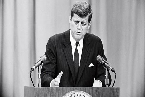 Tổng thống Mỹ John F. Kennedy cuối cùng phải công khai nhận trách nhiệm về Chiến dịch Pluto và thất bại đi kèm năm 1961 (Nguồn: Corbis)