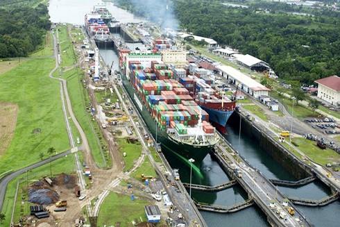 Kênh đào Panama ngày nay (Nguồn: Xinhua)