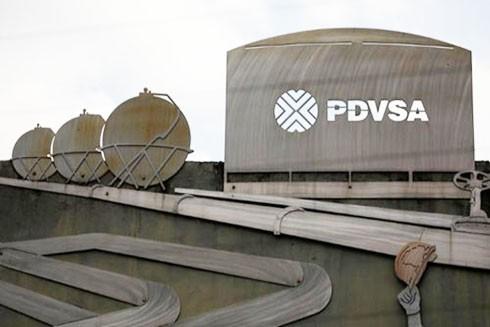 Tòa nhà của Tập đoàn Dầu khí Quốc gia Venezuela (PDVSA) tại thủ đô Caracas (Nguồn: Reuters)