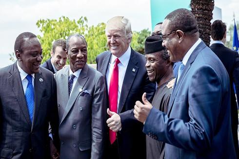 """Mỹ tung """"chiến lược mới"""", quyết """"giành lại"""" châu Phi từ tay Nga và Trung Quốc"""