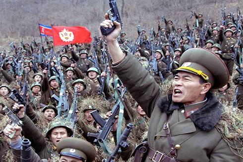 Quân đội Triều Tiên nổ súng trong cuộc chiến tranh 1950-1953