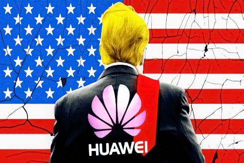 Tổng thống Mỹ D. Trump ký sắc lệnh trừng phạt tập đoàn Huawei của Trung Quốc (Nguồn: Reuters)