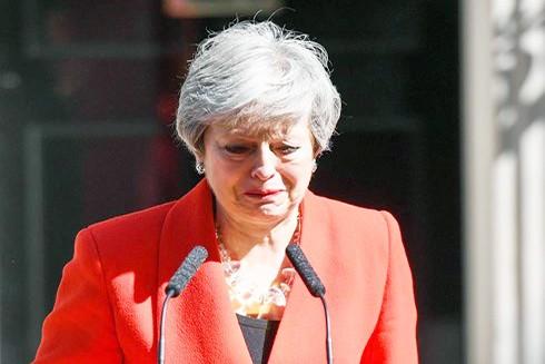 Bà Theresa May đã tuyên bố từ chức Thủ tướng Anh vào ngày 7-6 tới (Nguồn: TASS)