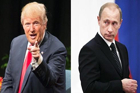 Tổng thống D. Trump khi nhậm chức từng hứa hẹn một thời kỳ nồng ấm hơn cho quan hệ Nga-Mỹ (Nguồn: Getty)