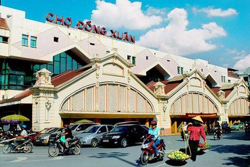 Chợ Đồng Xuân, biểu tượng của Hà Nội
