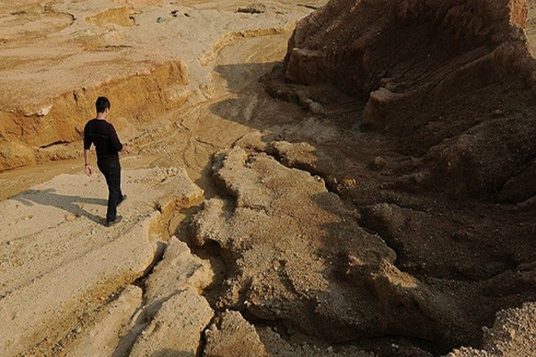 Một mỏ đất hiếm của Trung Quốc (Nguồn: Bloomberg)
