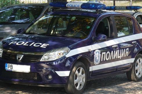 Xe cảnh sát tại thành phố Plovdiv