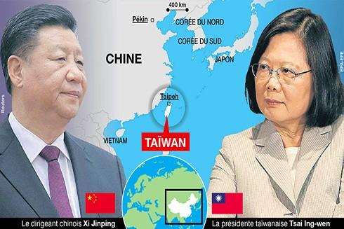 Sức ép từ phía Trung Quốc khiến tổng số quốc gia có quan hệ ngoại giao chính thức với Đài Loan hiện chỉ còn 17 nước (Nguồn: Ouest-France)