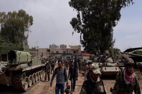 Quân đội Syria tiến vào thị trấn Hamirat