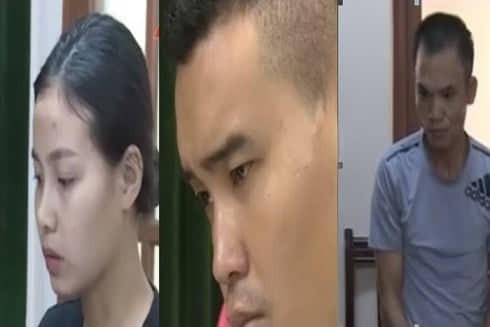 Các đối tượng trong vụ án
