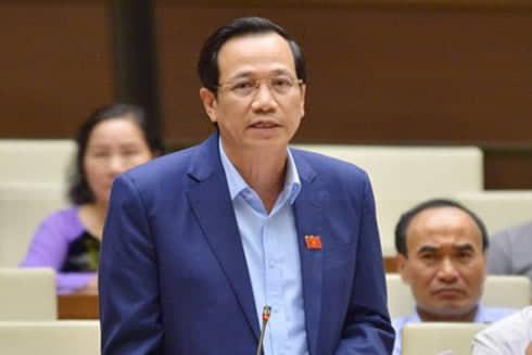Bộ trưởng Bộ Lao động Thương binh Xã hội Đào Ngọc Dung. Ảnh: Ngọc Thắng