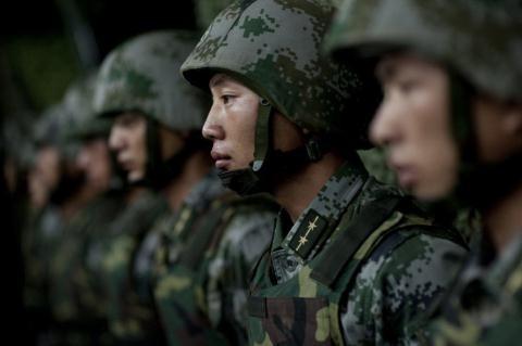 Lính bộ binh cơ giới Trung Quốc