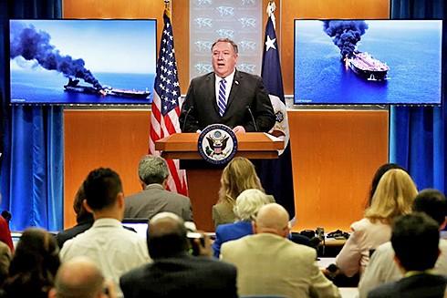 Ngoại trưởng Mỹ Mike Pompeo cáo buộc Iran đứng đằng sau vụ tấn công. (Nguồn: Getty Images)
