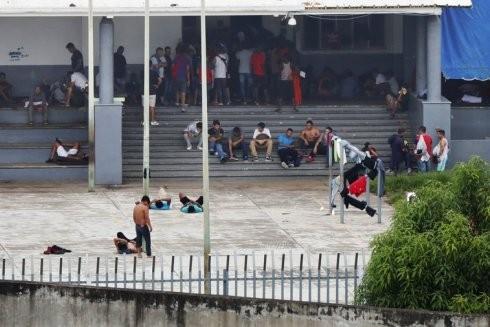 Người tị nạn tại biên giới miền Nam Mexico
