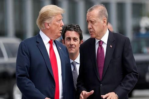 Quan hệ đồng minh giữa Mỹ và Thổ Nhĩ Kỳ đã leo thang thời gian gần đây do Thổ Nhĩ Kỳ mua hệ thống tên lửa phòng thủ S-400 mới nhất của Nga (Nguồn: TASS)