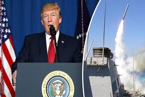 Chiến lược phòng thủ tên lửa mới của Mỹ có nguy cơ châm ngòi chạy đua vũ trang với Nga và Trung Quốc (Nguồn: AFP)
