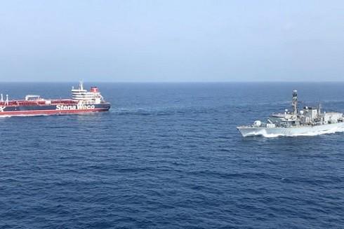 Eo biển Hormuz là nguồn gốc của căng thẳng gia tăng (Ảnh: GETTY)