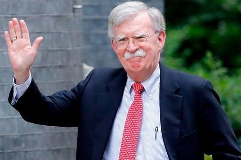 Cố vấn an ninh quốc gia Mỹ, ông John Bolton (Ảnh: GETTY)