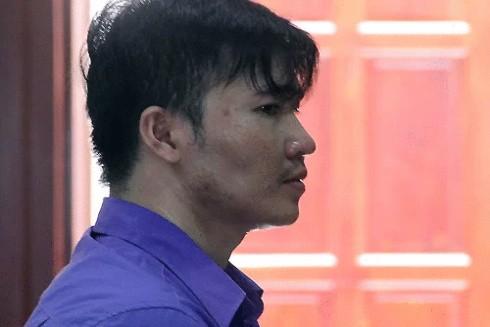 Bị cáo Võ Minh Thắng trong phiên tòa xét xử vào ngày 14-8-2019 (Ảnh: VnExpress)