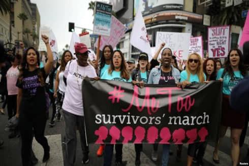 Diễu hành ủng hộ phong trào #MeToo