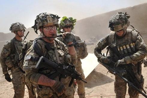 Lính Mỹ trên chiến trường Afghanistan