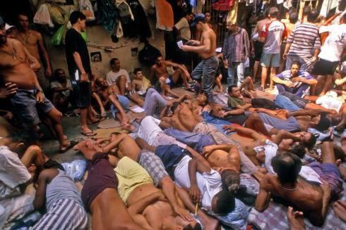 Quang cảnh trong một nhà tù ở Lebanon