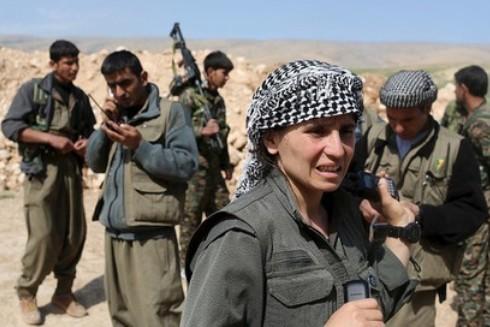 Các tay súng của Đảng Công nhân người Kurd (PKK)