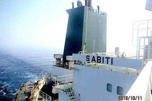 Hình ảnh con tàu Sabiti ngày 11-10-2019