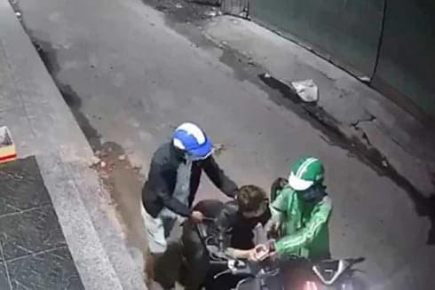 Vụ cướp tại Bình Tân (Ảnh cắt từ clip)