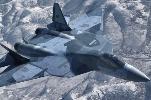 Siêu tiêm kích Su T-50 PAK FA của Nga