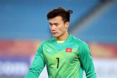 Bùi Tiến Dũng được HLV Park Hang-Seo chọn bắt chính trong trận U22 Việt Nam gặp U22 Indonesia
